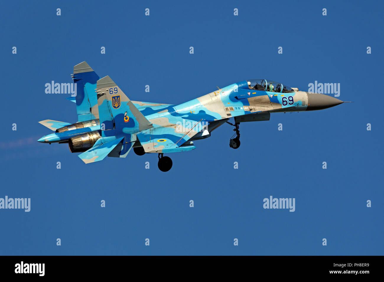 Suchoi Su - 27 UB Stock Photo