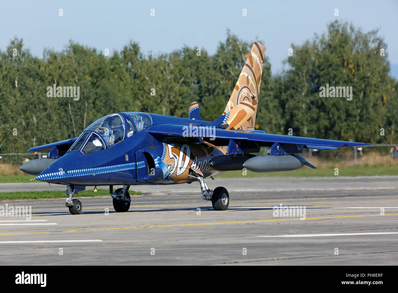 CIAF 2013: Dassault/Dornier Alpha Jet Stock Photo