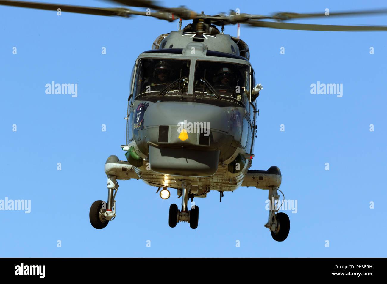 20. CIAF 2013: Sea Lynx MK 88A der deutschen Marine. Stock Photo