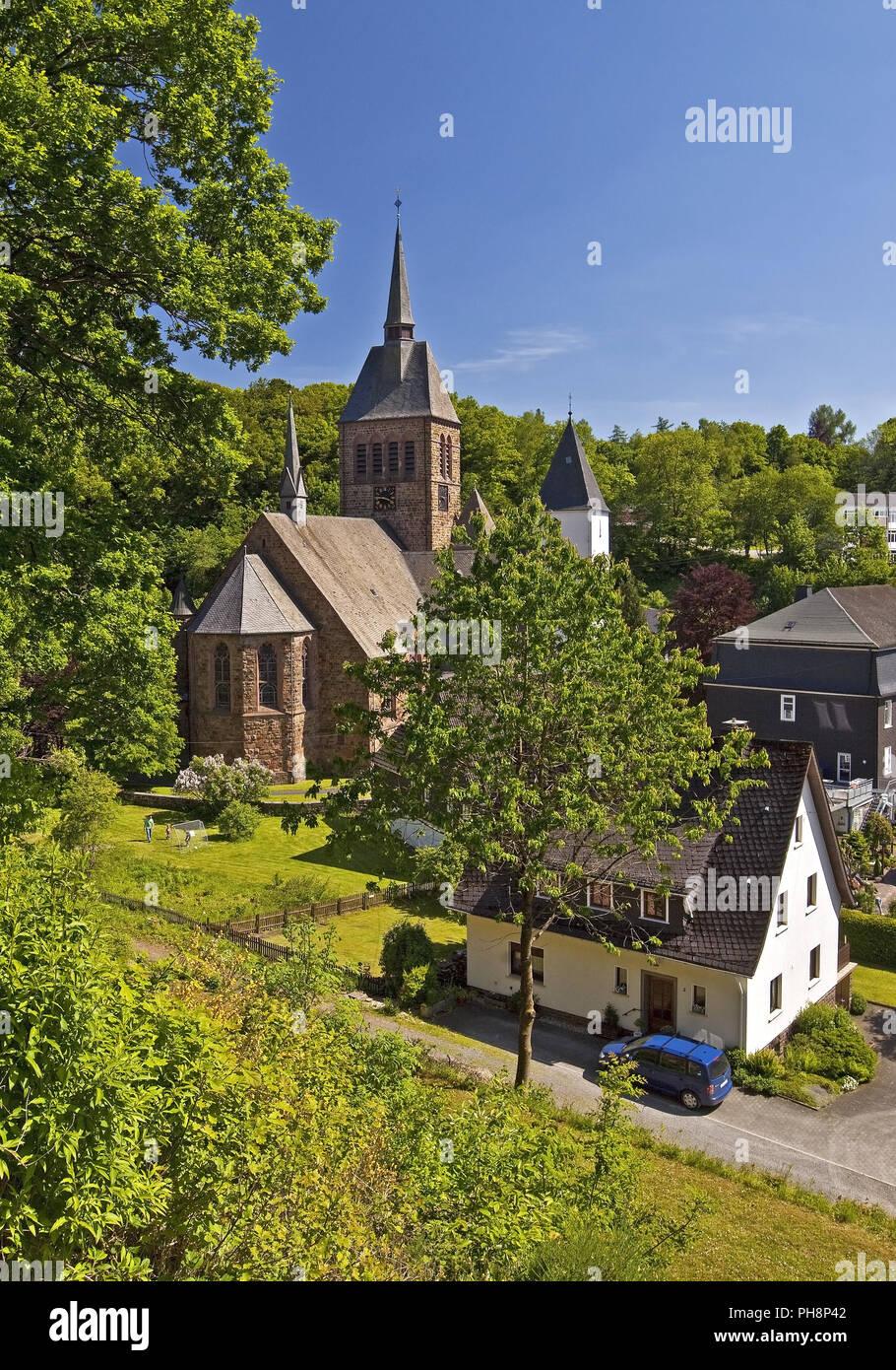 Church St. Peter and Paul in Kirchhundem - Stock Image