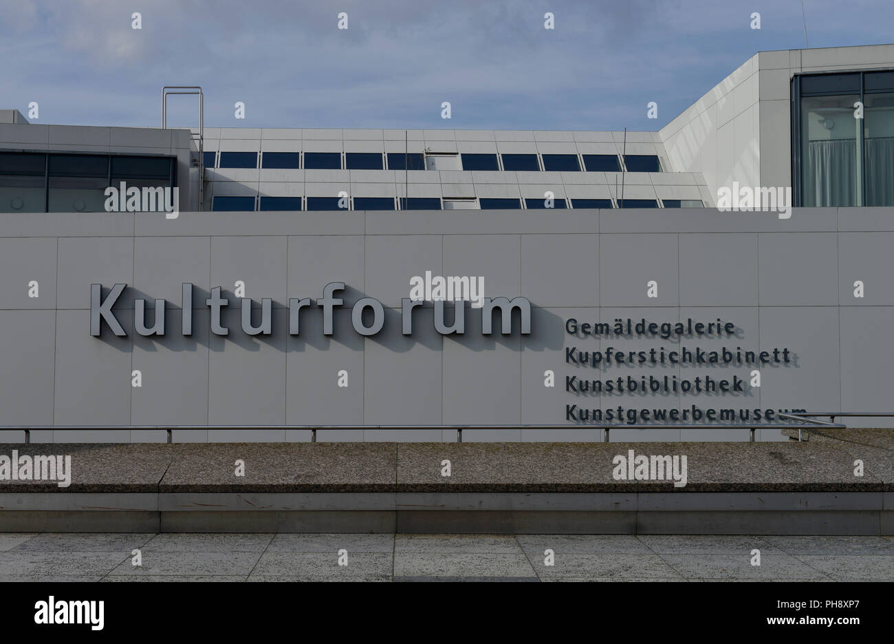 Gemaeldegalerie, Kulturforum, Tiergarten, Mitte, Berlin Stock Photo
