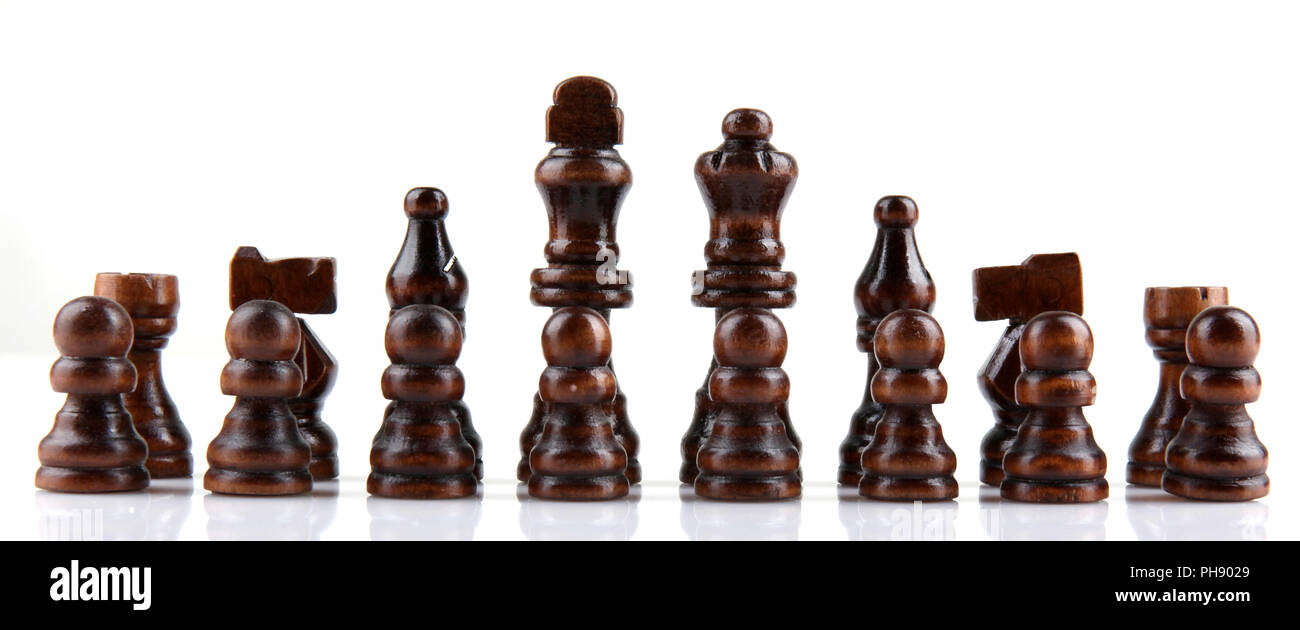 chess isolated - Stock Image