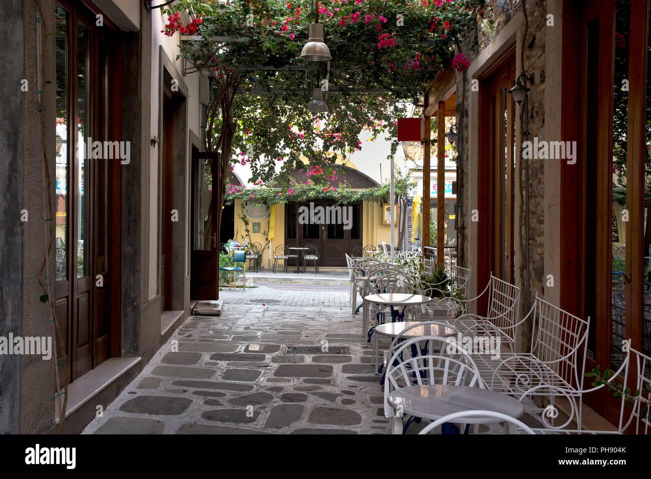 old town Kos, Greece Stock Photo