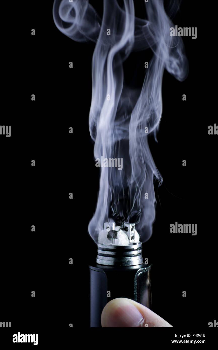 E-cigarette vape - Stock Image