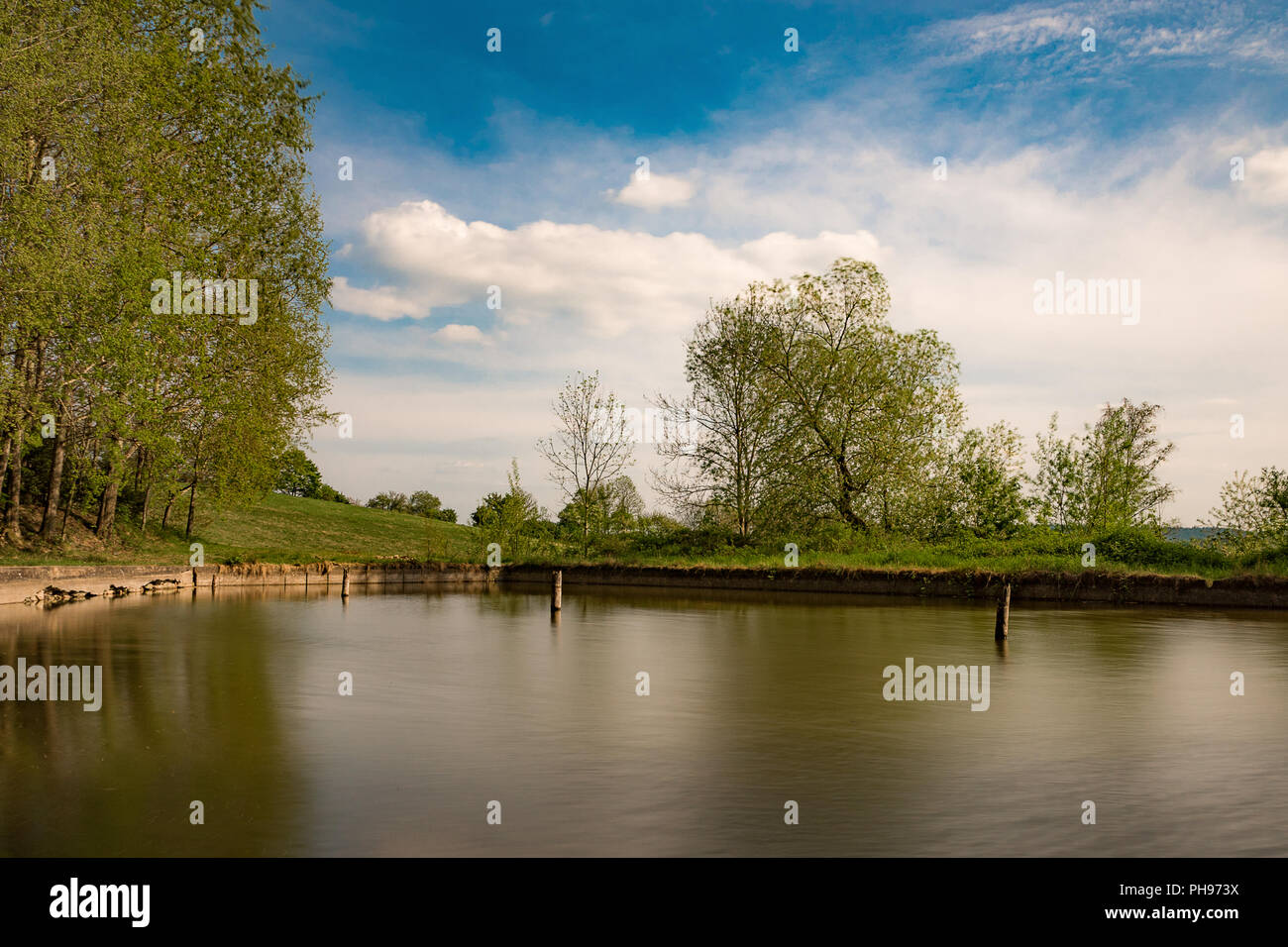 The Forgotten Pool - Stock Image
