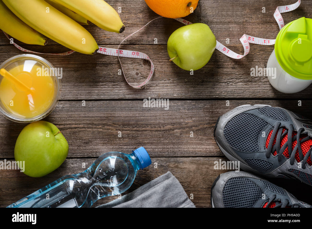 Cool circle made of important things - Stock Image