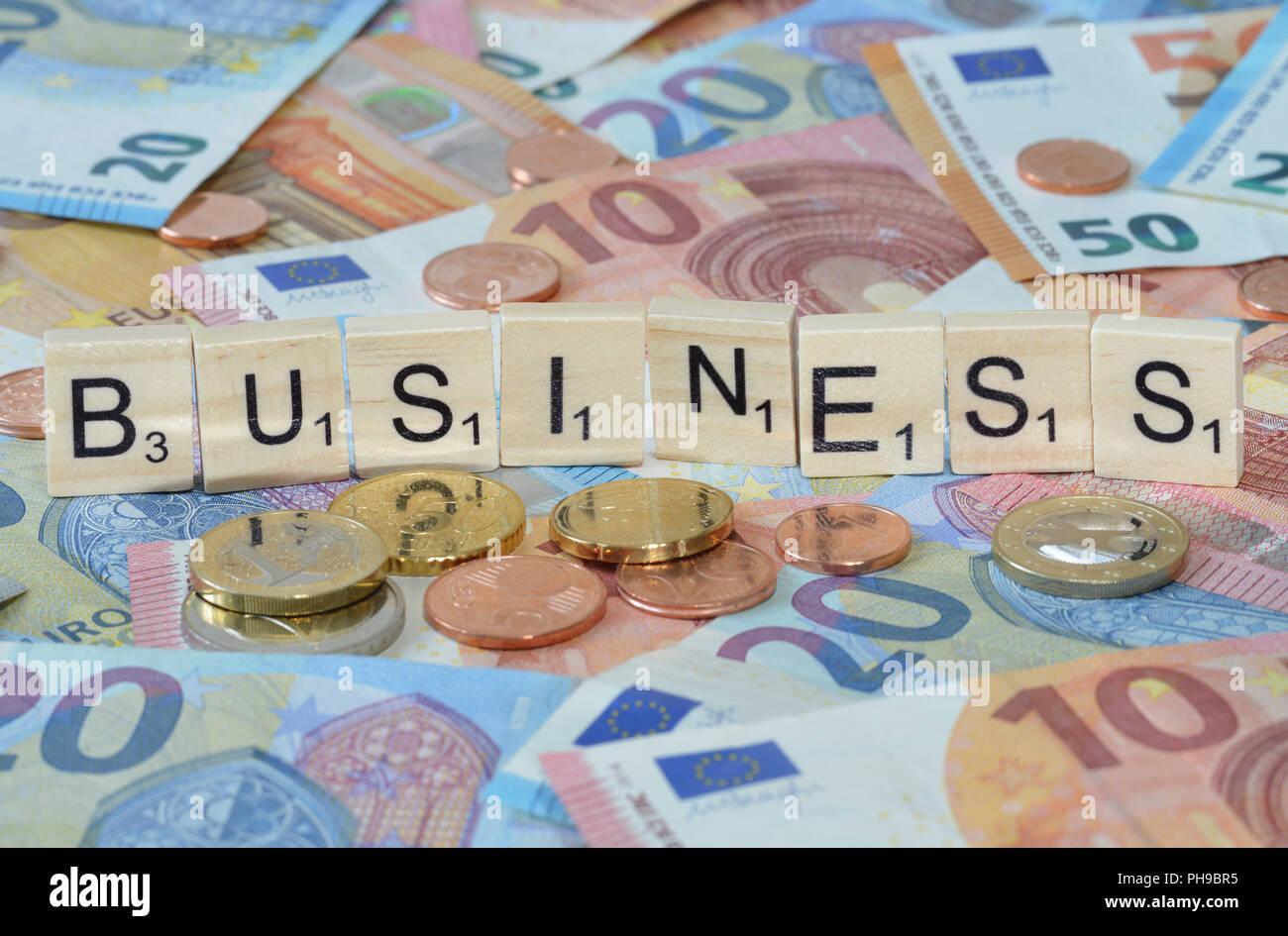 Symbolfoto Wirtschaftsbegriff Business - Stock Image