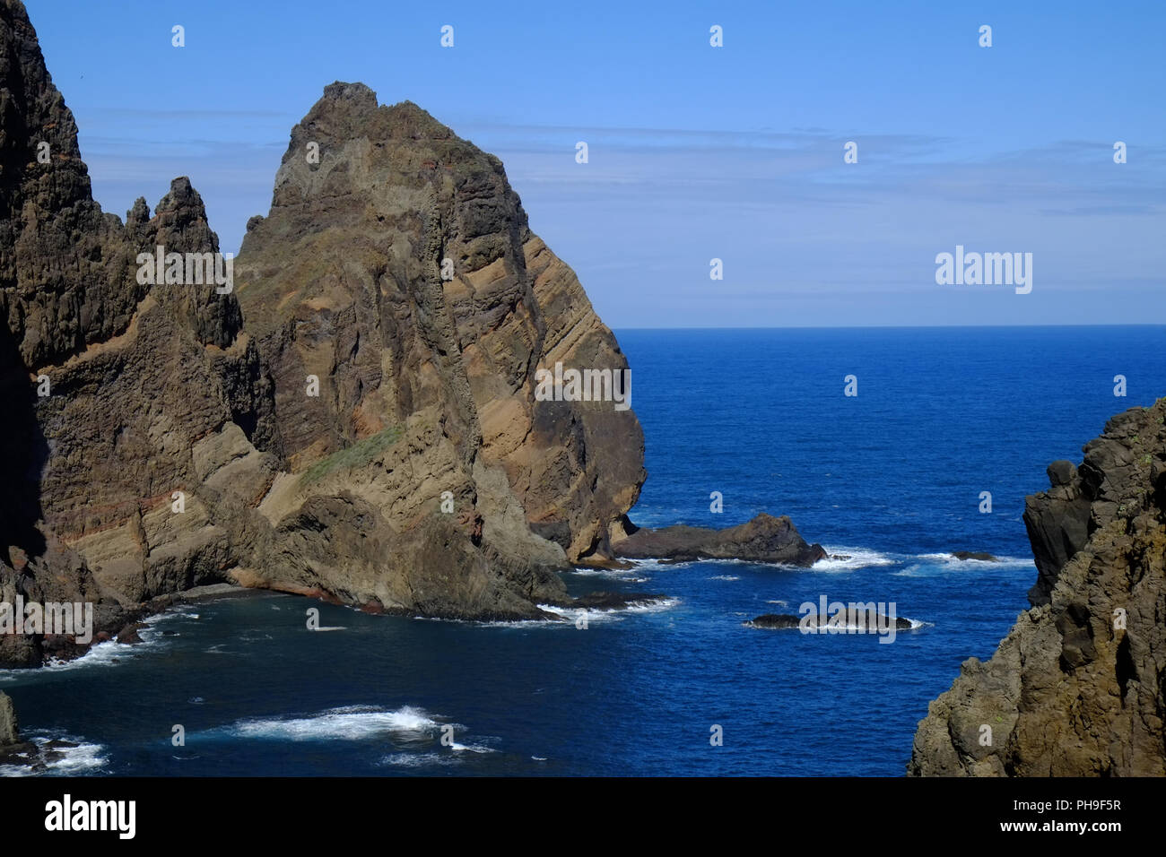 Madeira, Northeast Coast, Ponta de Sao Lourenco - Stock Image