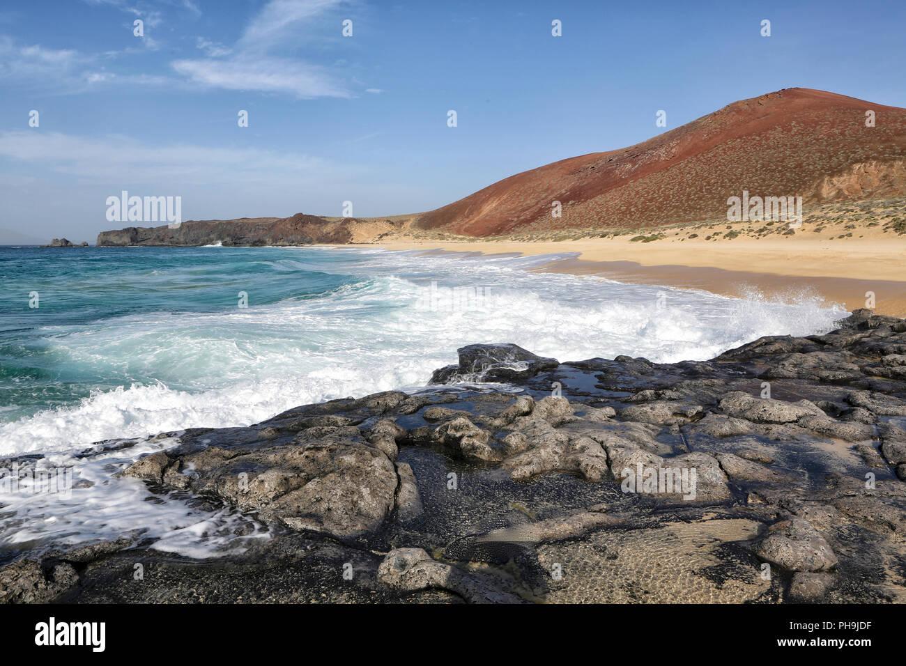 playa lambra isla canarias - Stock Image