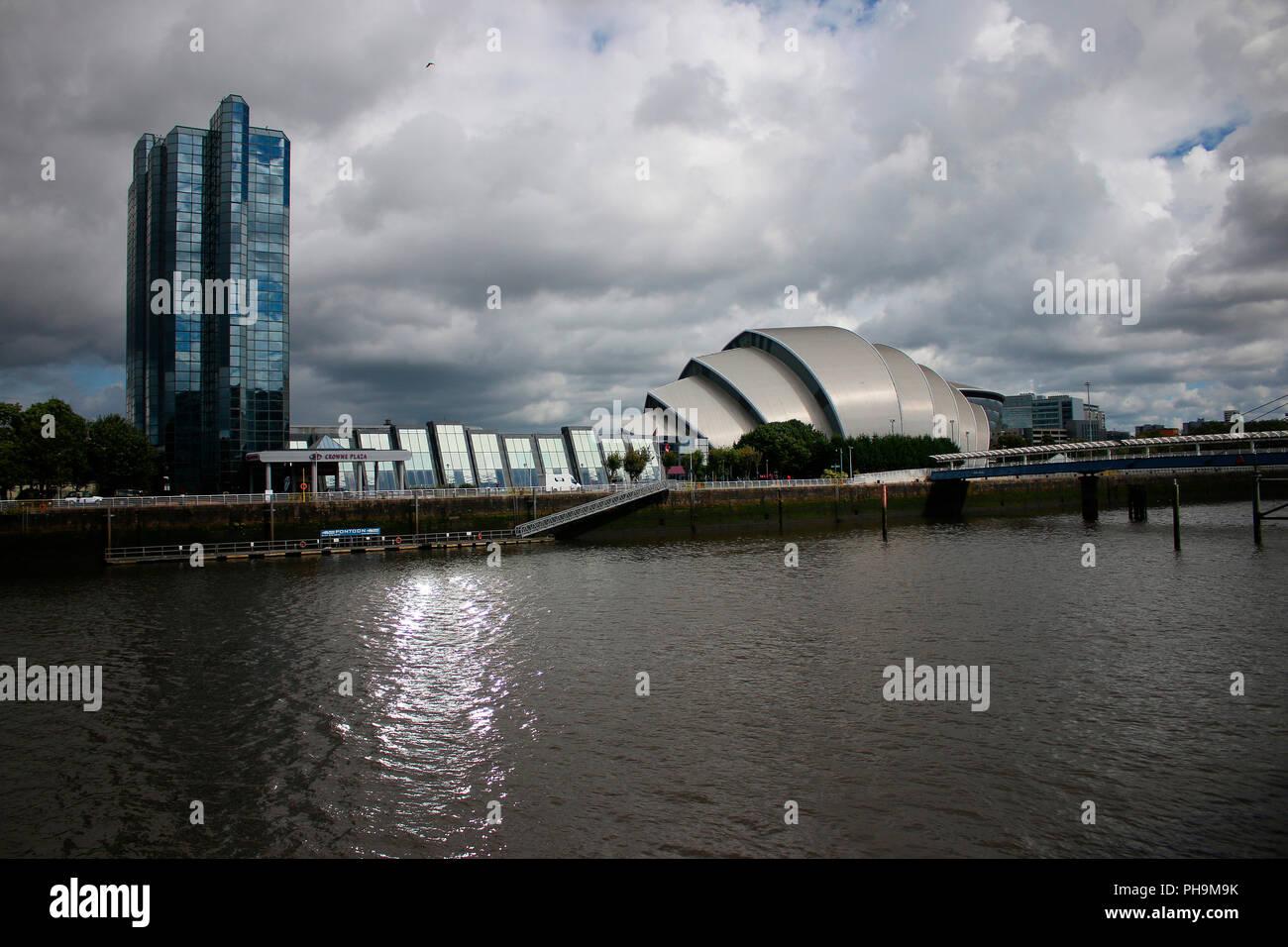 SECC Conference Center (Architekt: Sir Noprman Foster), Glasgow, Schottland/ Scotland. - Stock Image