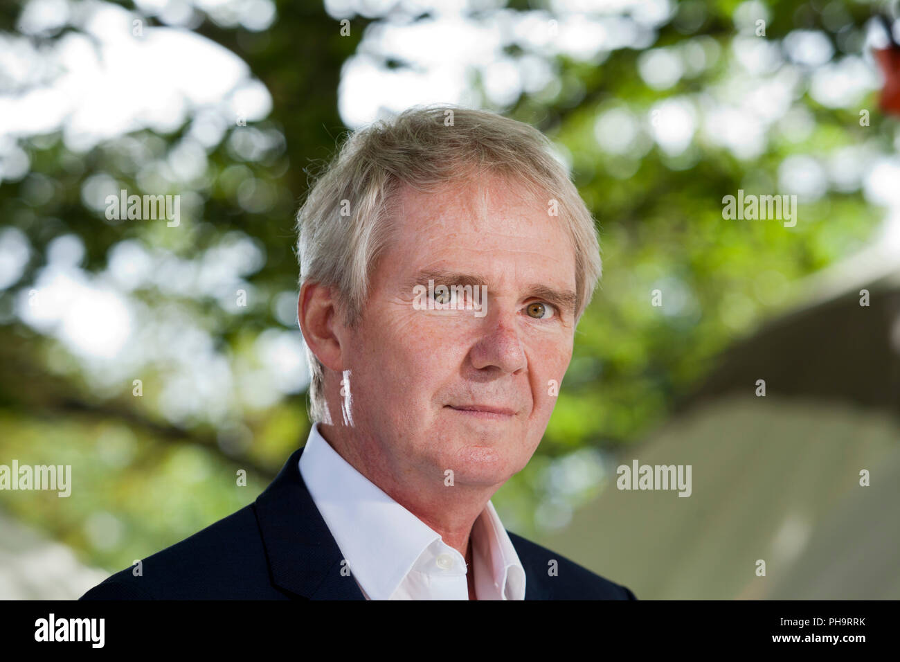 Edinburgh, UK. 24th August, 2018. Sir Nigel Richard Shadbolt FRS FREng CITP CEng FBCS CPsychol is Principal of Jesus College, Oxford, and Professorial Research Fellow in the Department of Computer Science, University of Oxford. Pictured at the Edinburgh International Book Festival. Edinburgh, Scotland.  Picture by Gary Doak / Alamy Live News - Stock Image