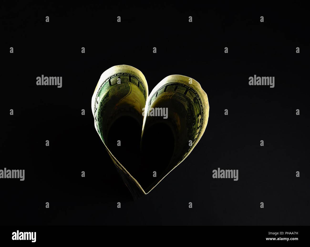 hundred heart - Stock Image