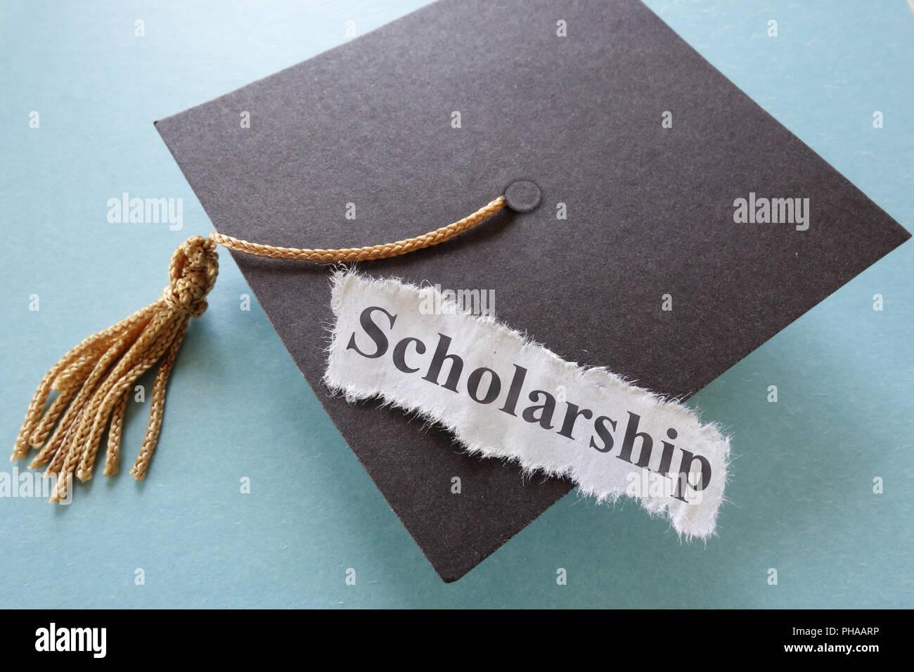 scholarship - Stock Image