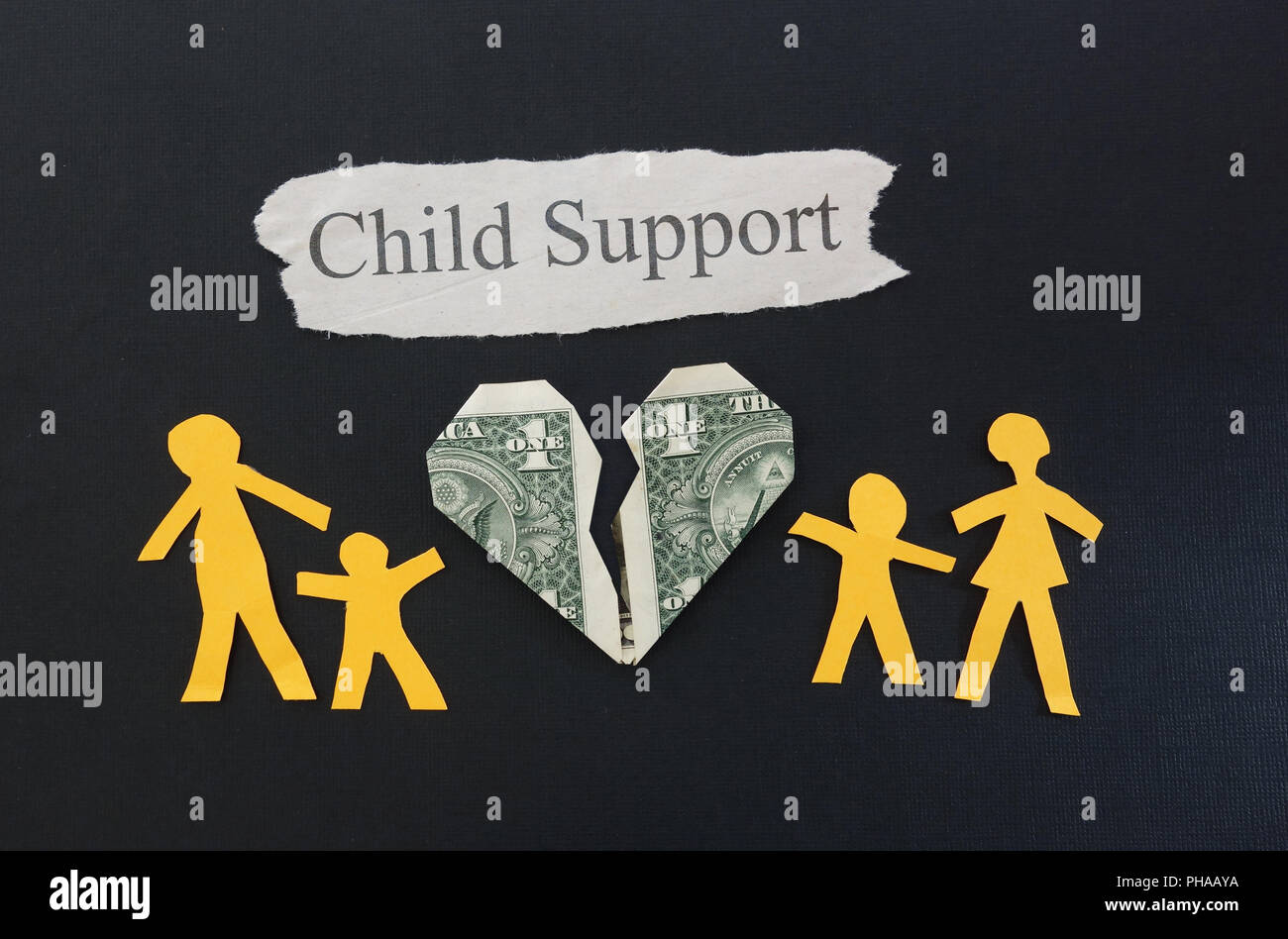 child support - Stock Image