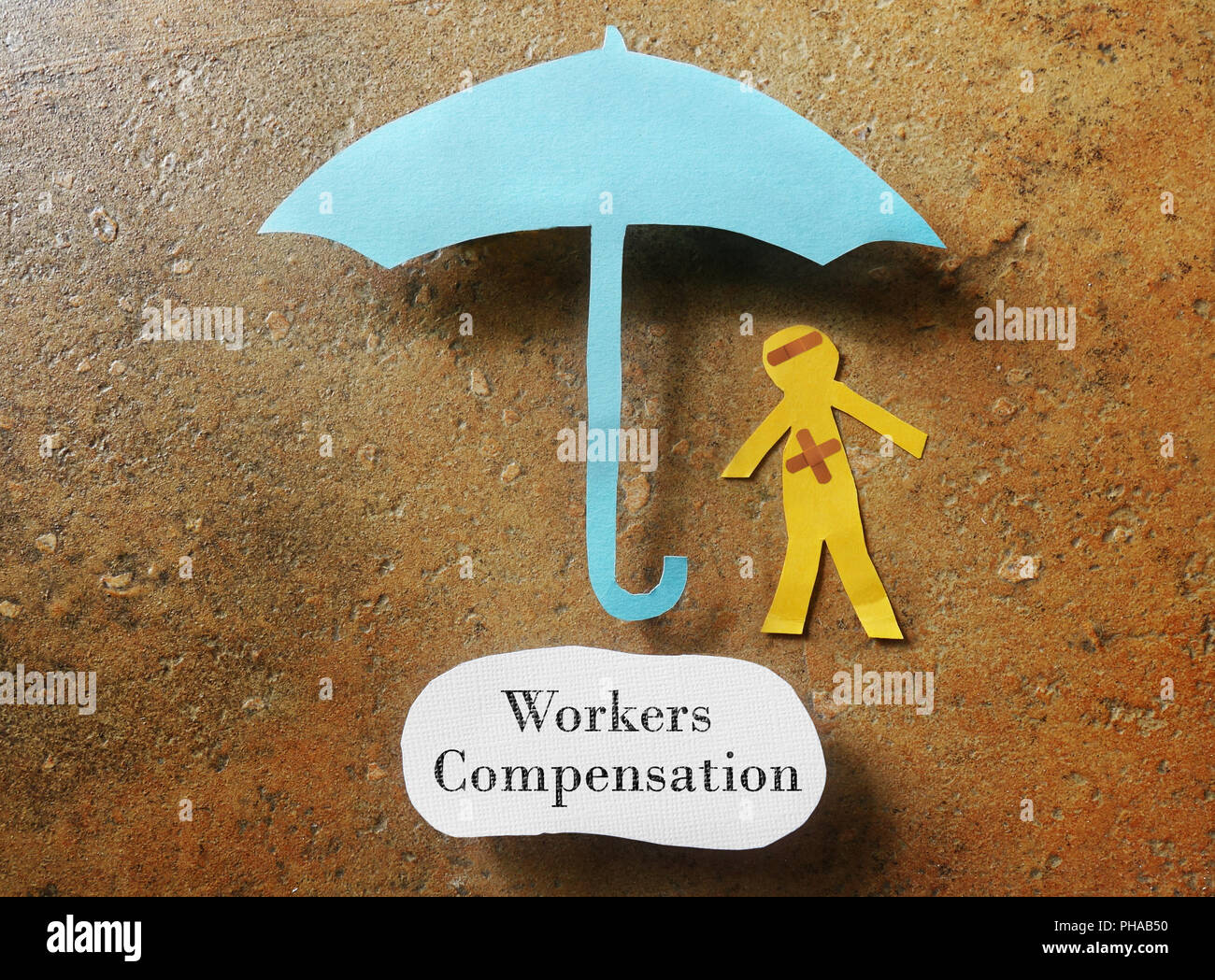 Workers Compensation concept - Stock Image