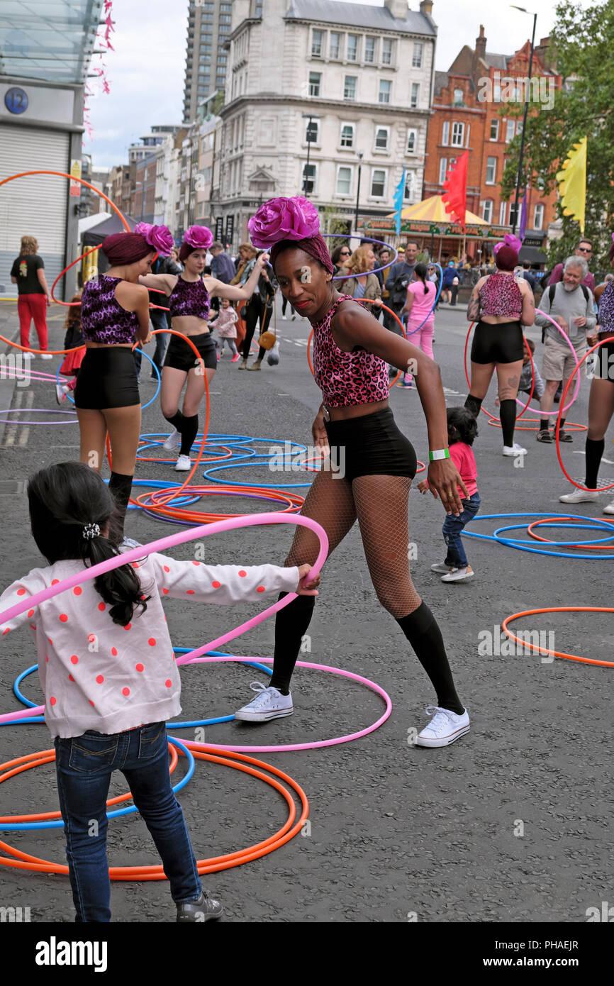 Smithfield 150 Street Party August 2018  in London England UK  KATHY DEWITT - Stock Image