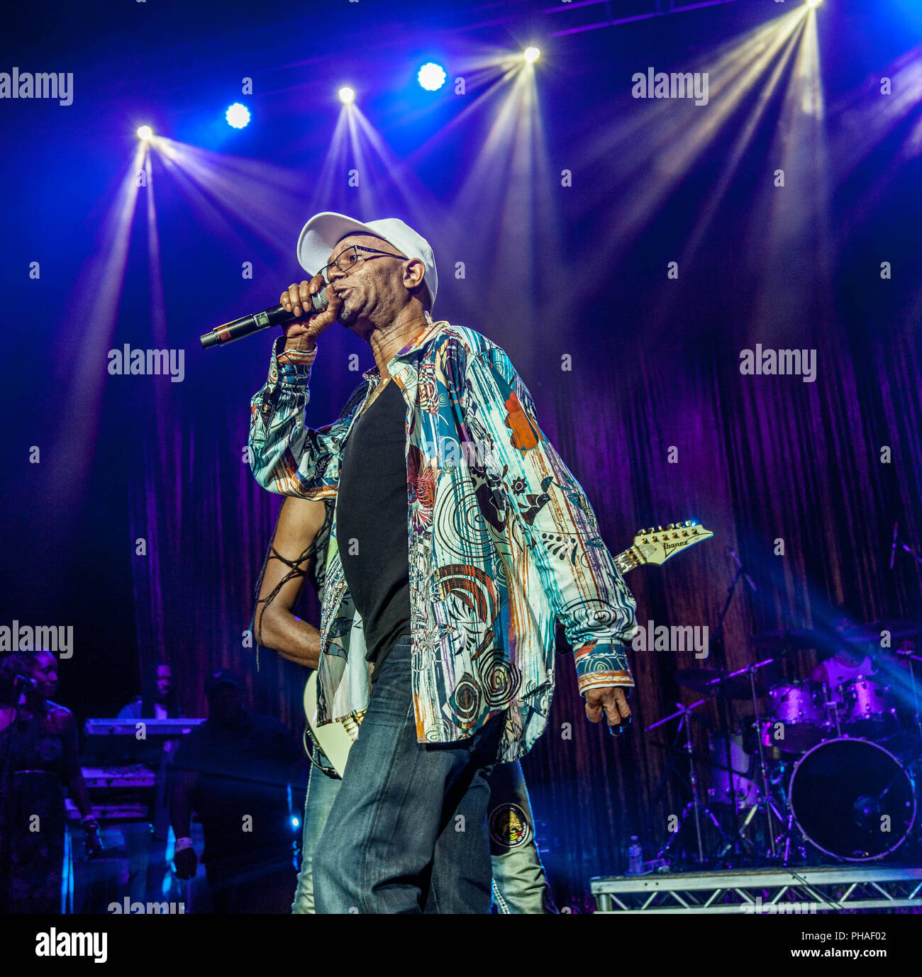Pictures of Reggae singer and legend  Beres Hammond at  the O2 Brixton Academy,London 2018. ©O.Giuliano Eboulia/graphikvision.com Stock Photo