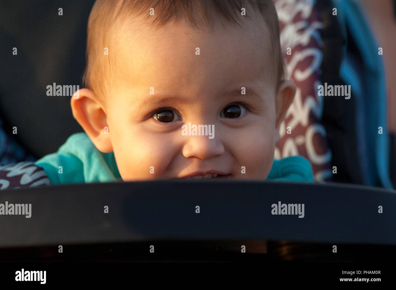 Look of baby Regard d'enfant - Stock Image
