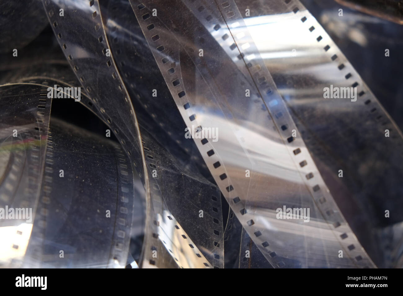 35 mm film, film strip - Stock Image