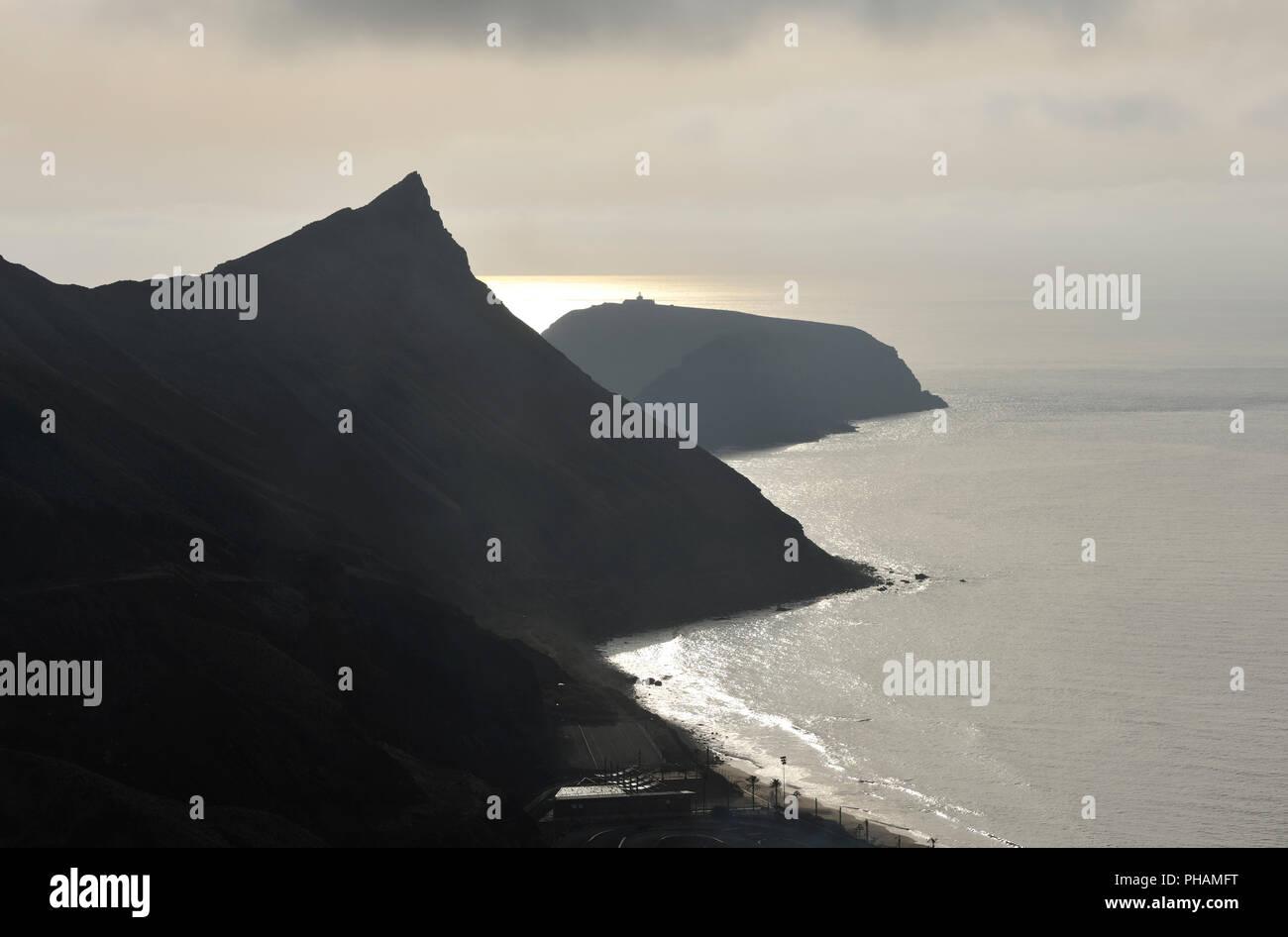 Ilhéu de Cima. Porto Santo island, Madeira. Portugal - Stock Image