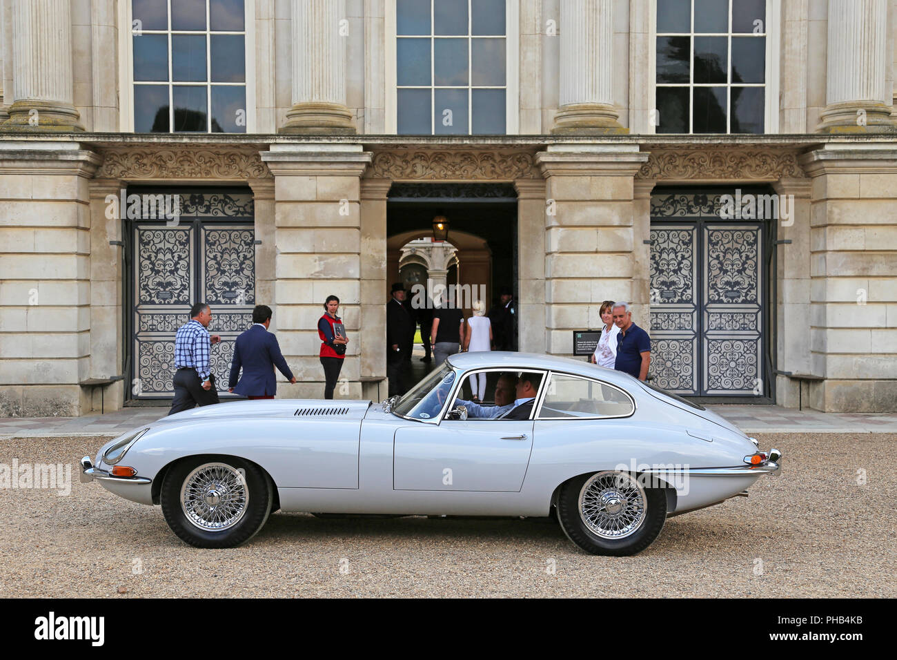 Jaguar E Type Series 1 Coupe Concours Of Elegance 2018 Preview Day