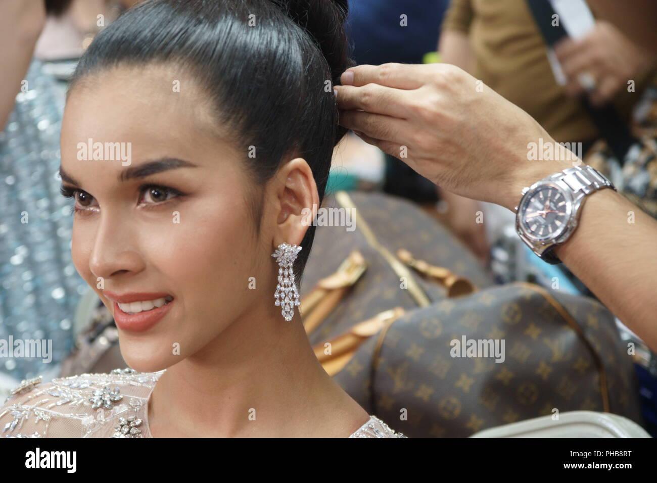Pattaya Thailand 31th Aug 2018 A Transgender Beauty Contestant