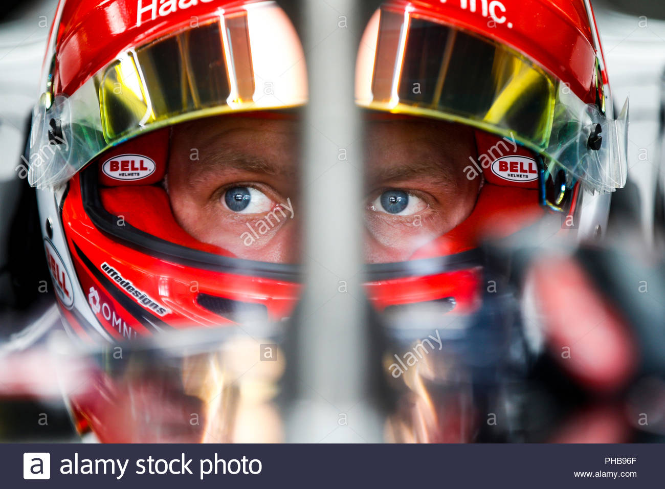 Monza, Italy  1st September, 2018  Kevin Magnussen, Haas F1 Team