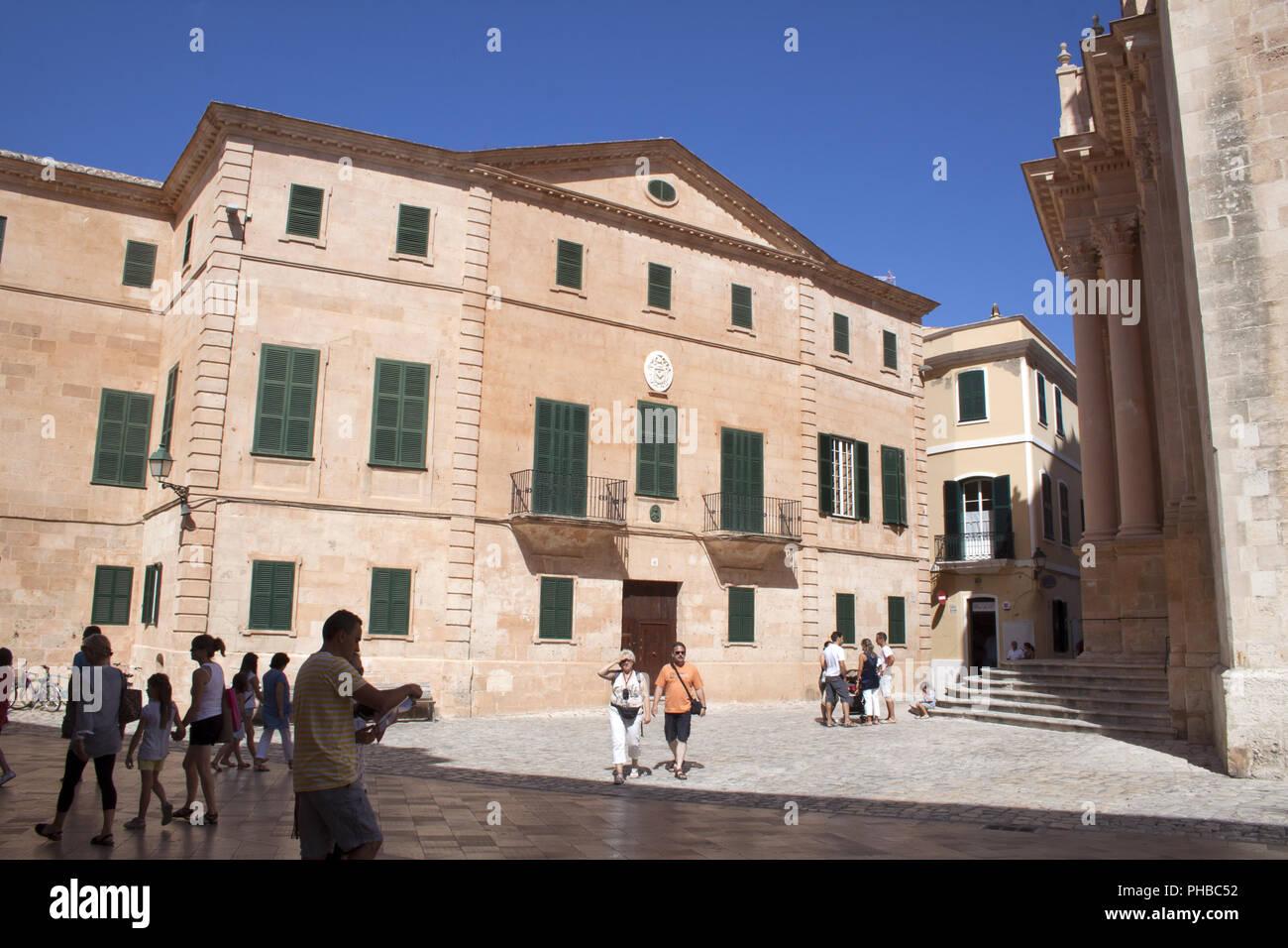 Eiland Menorca, Ciutadella, Spain - Stock Image