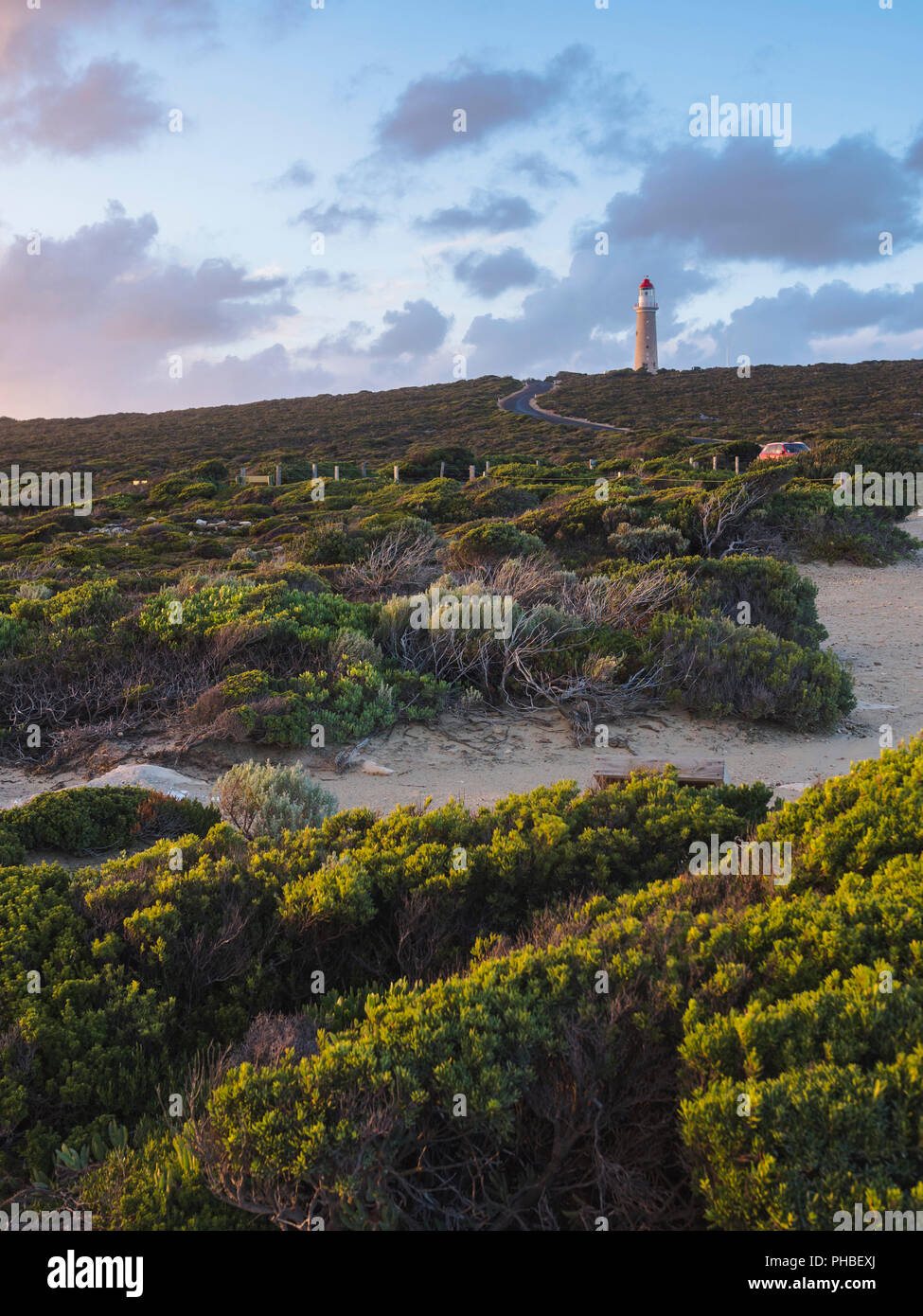 Cape Du Couedic lightstation in the Flinders Chase National Park, Kangaroo Island, South Australia, Australia, Pacific Stock Photo