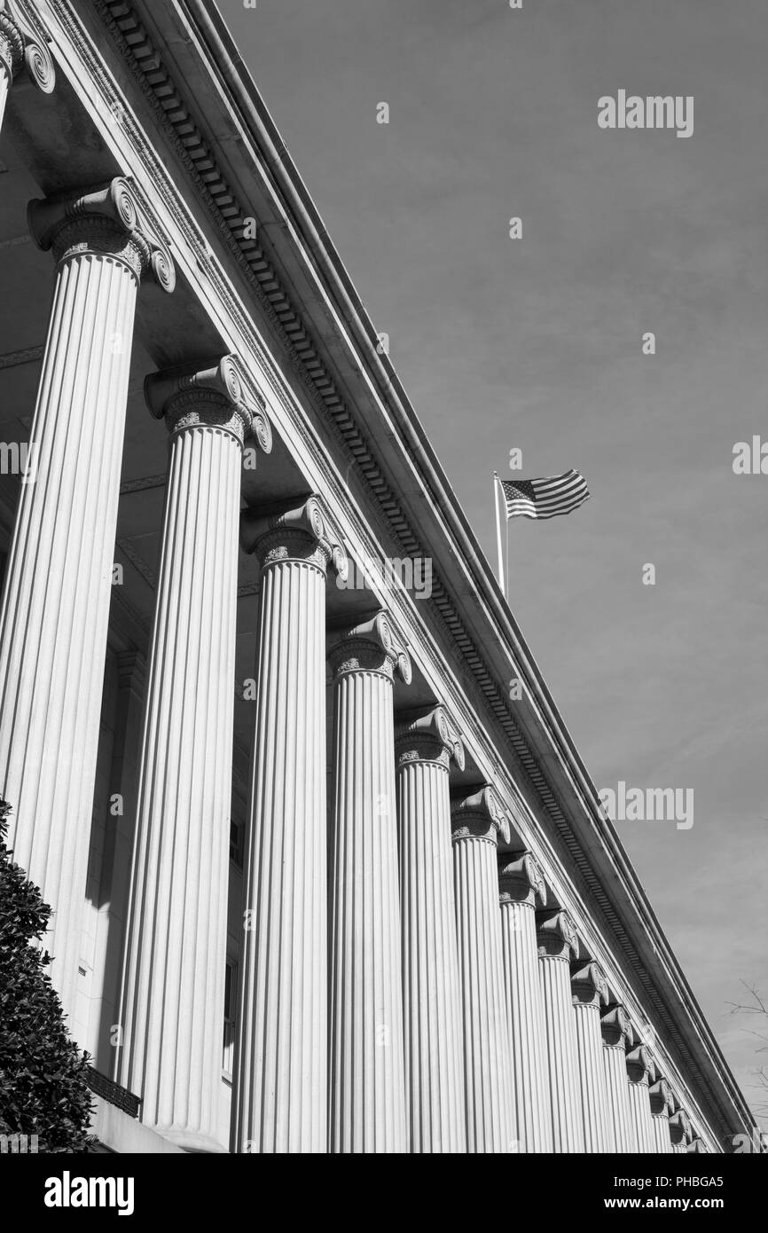 Department of Commerce Federal Credit Union facade - Stock Image