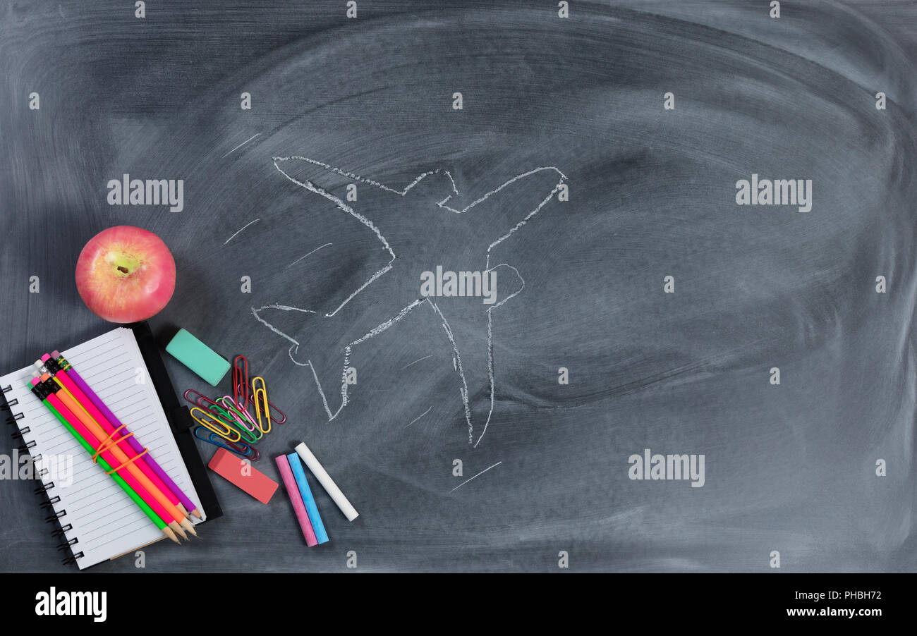Back to school concept with high expectations - Stock Image