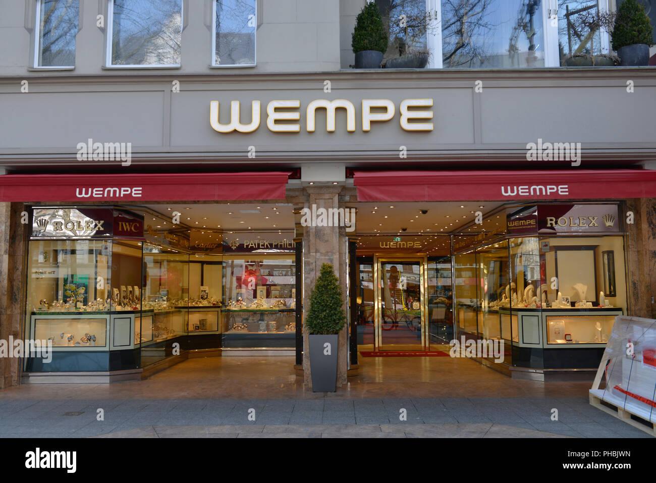 Juwelier Wempe Kurfuerstendamm Charlottenburg Berlin Deutschland