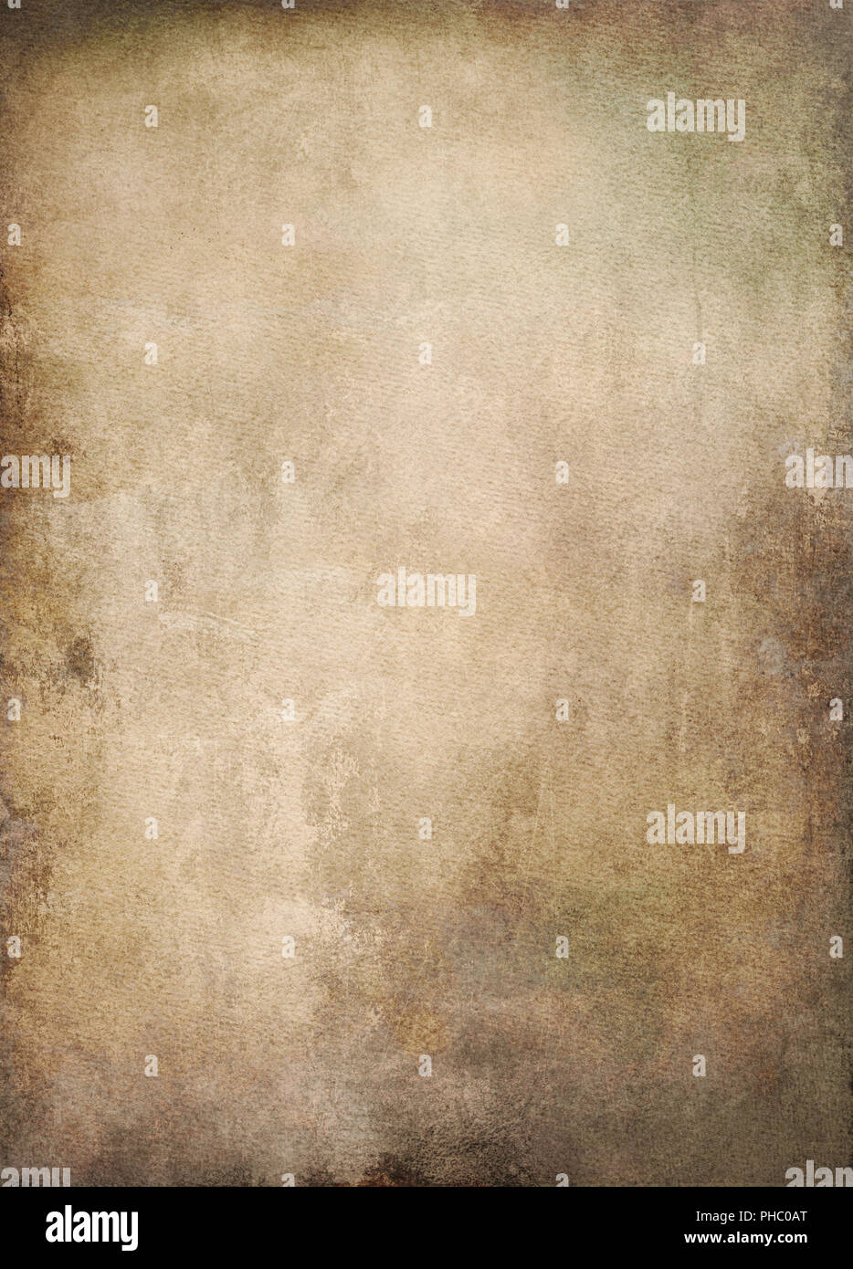 old paper background textures shading - Stock Image