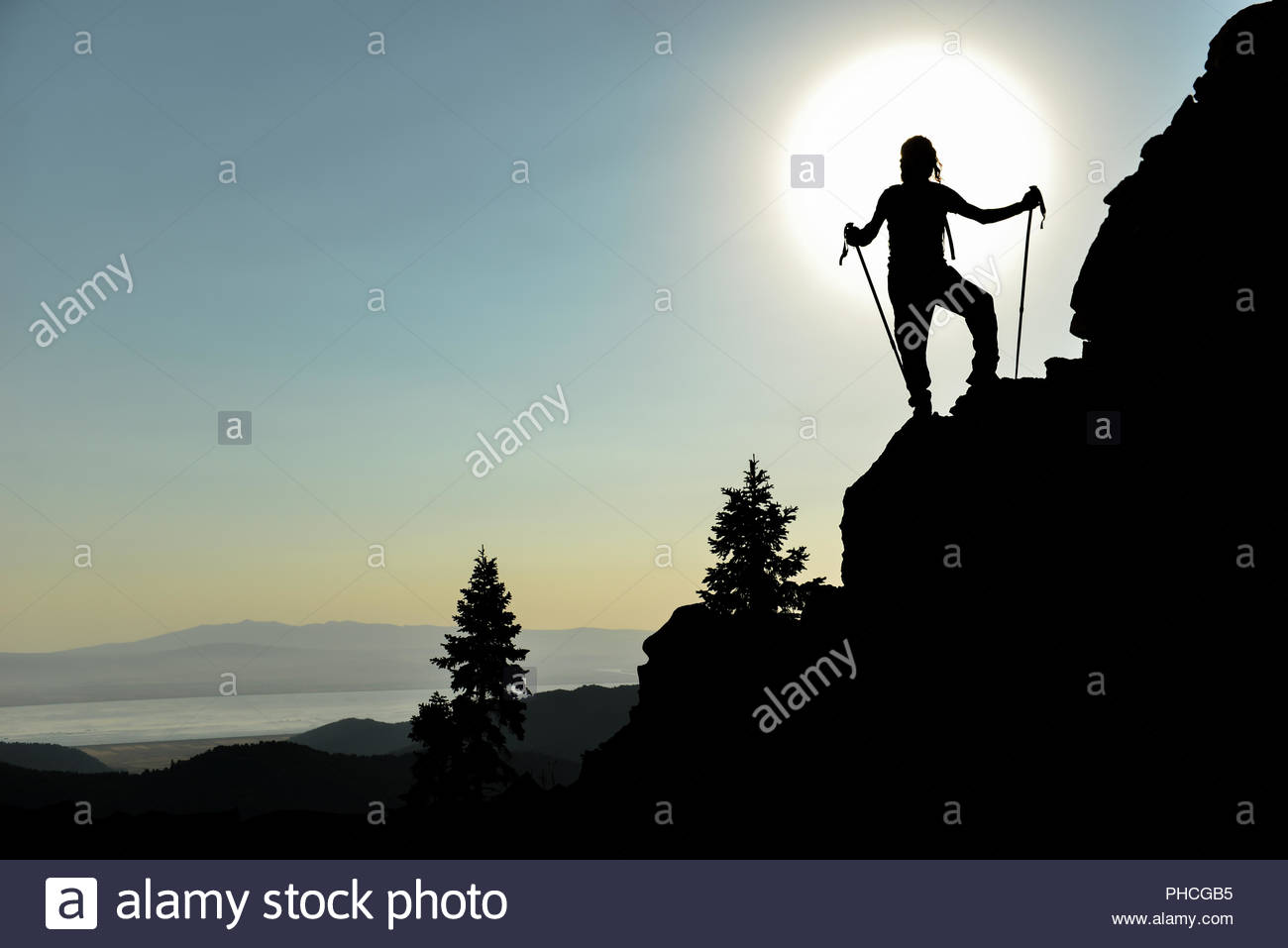inspired by nature  target success - Stock Image