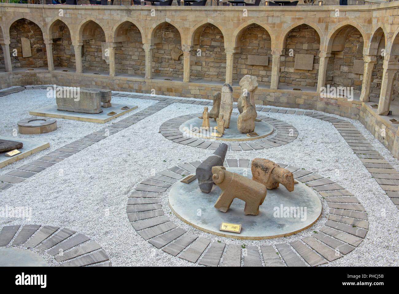 Old city, Baku, Azerbaijan - Stock Image