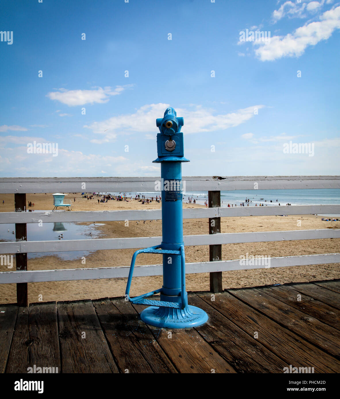 Telescope, Viewpoint glance observe - Stock Image