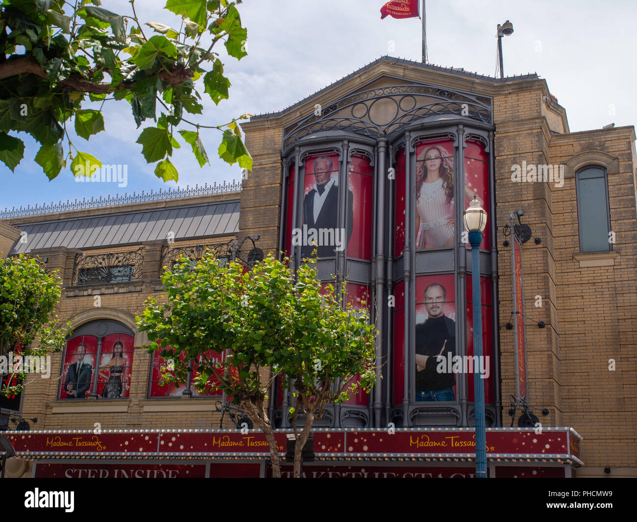 Madam Tussaud San Francisco - Stock Image