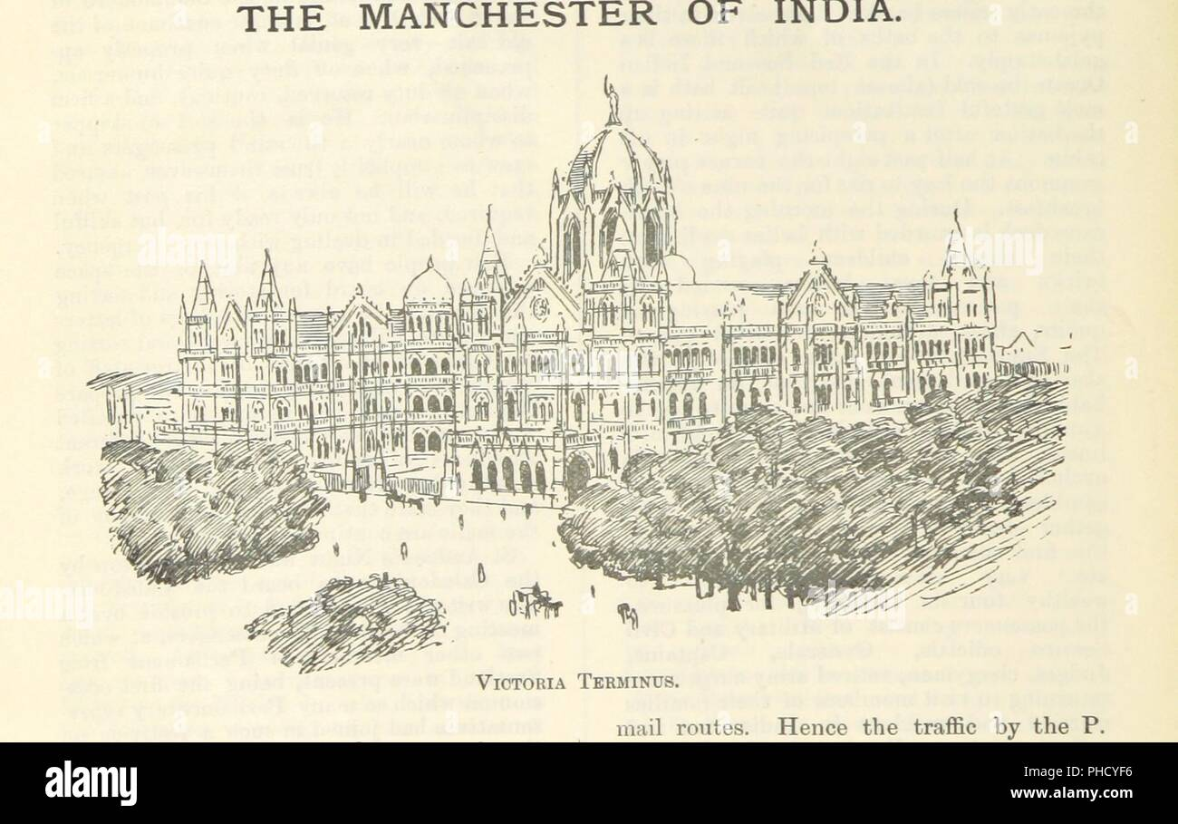 """Image  from page 16 of 'Letters from India and Ceylon, including the Manchester of India, the Indian Dundee, and Calcutta jute mills . 1895-96. Reprinted from the """"Dundee Advertiser.""""' . - Stock Image"""