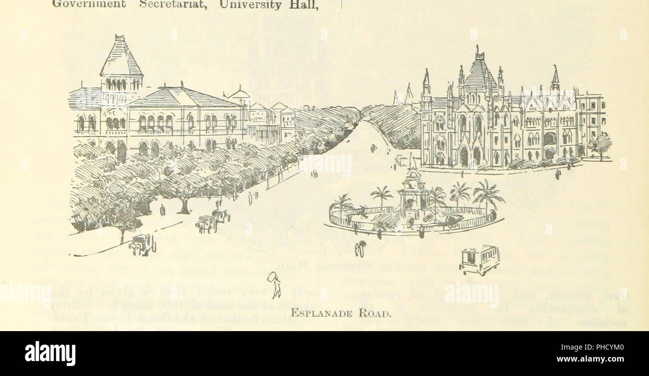 """Image  from page 18 of 'Letters from India and Ceylon, including the Manchester of India, the Indian Dundee, and Calcutta jute mills . 1895-96. Reprinted from the """"Dundee Advertiser.""""' . - Stock Image"""