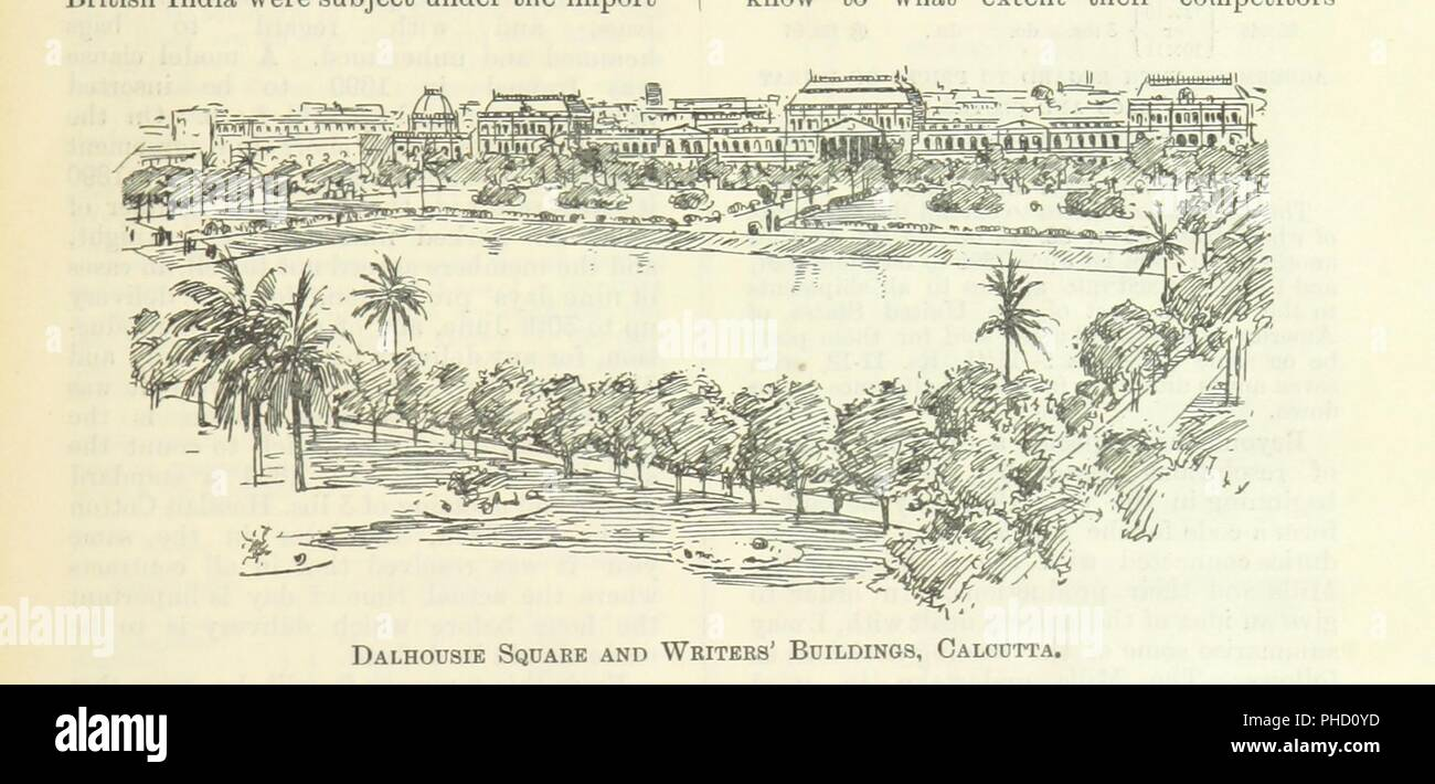 """Image  from page 111 of 'Letters from India and Ceylon, including the Manchester of India, the Indian Dundee, and Calcutta jute mills . 1895-96. Reprinted from the """"Dundee Advertiser.""""' . Stock Photo"""