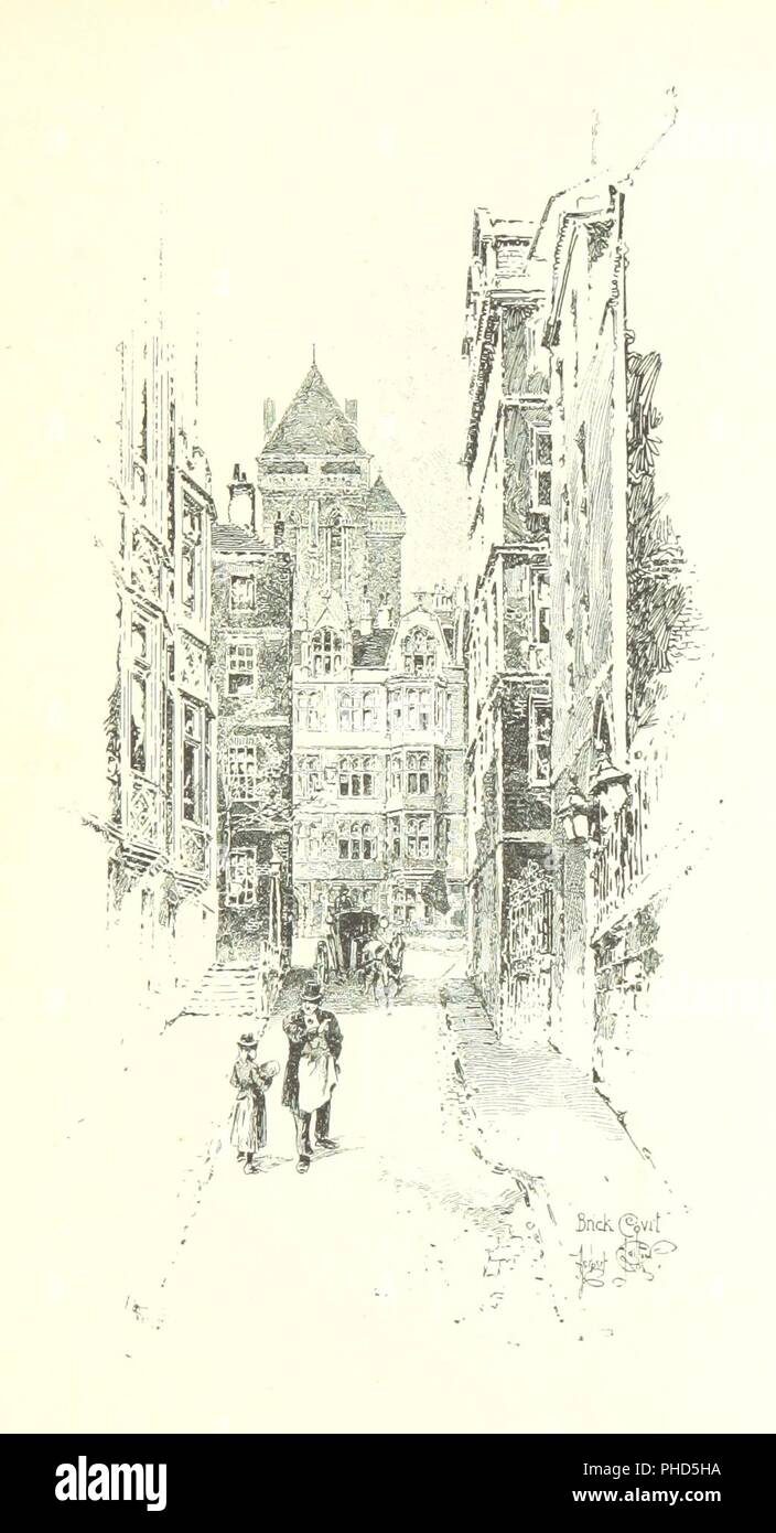 Image  from page 155 of 'The Inns of Court and Chancery . New edition' . - Stock Image