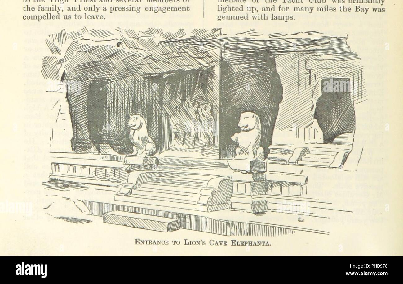 """Image  from page 24 of 'Letters from India and Ceylon, including the Manchester of India, the Indian Dundee, and Calcutta jute mills . 1895-96. Reprinted from the """"Dundee Advertiser.""""' . Stock Photo"""