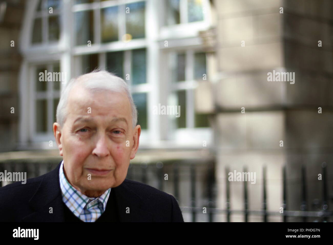 Frank Field Labour party MP member of parliament for Birkenhead. British politicians. Member of parliament of the United Kingdom since 1979. Russell Moore portfolio page. Stock Photo