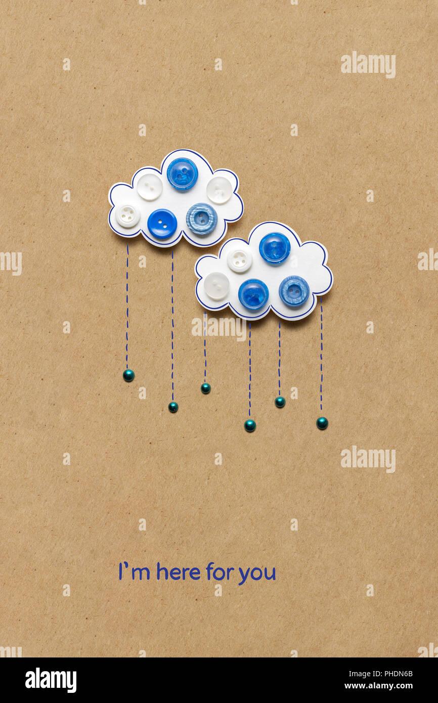 When it rains. - Stock Image