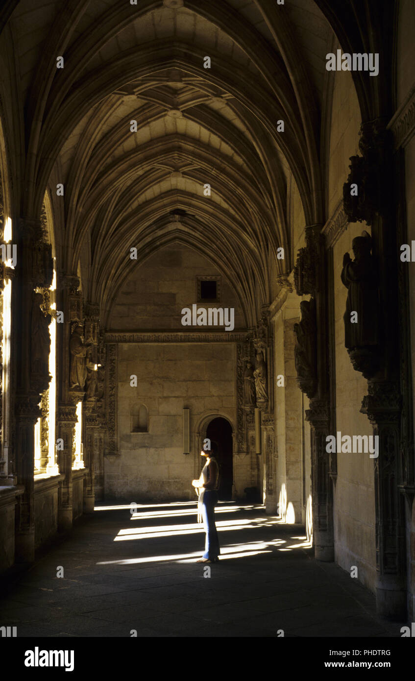 Cloisters in the Monastery of San Juan de los Reyes, Toledo, Castilla-La Mancha, Spain - Stock Image