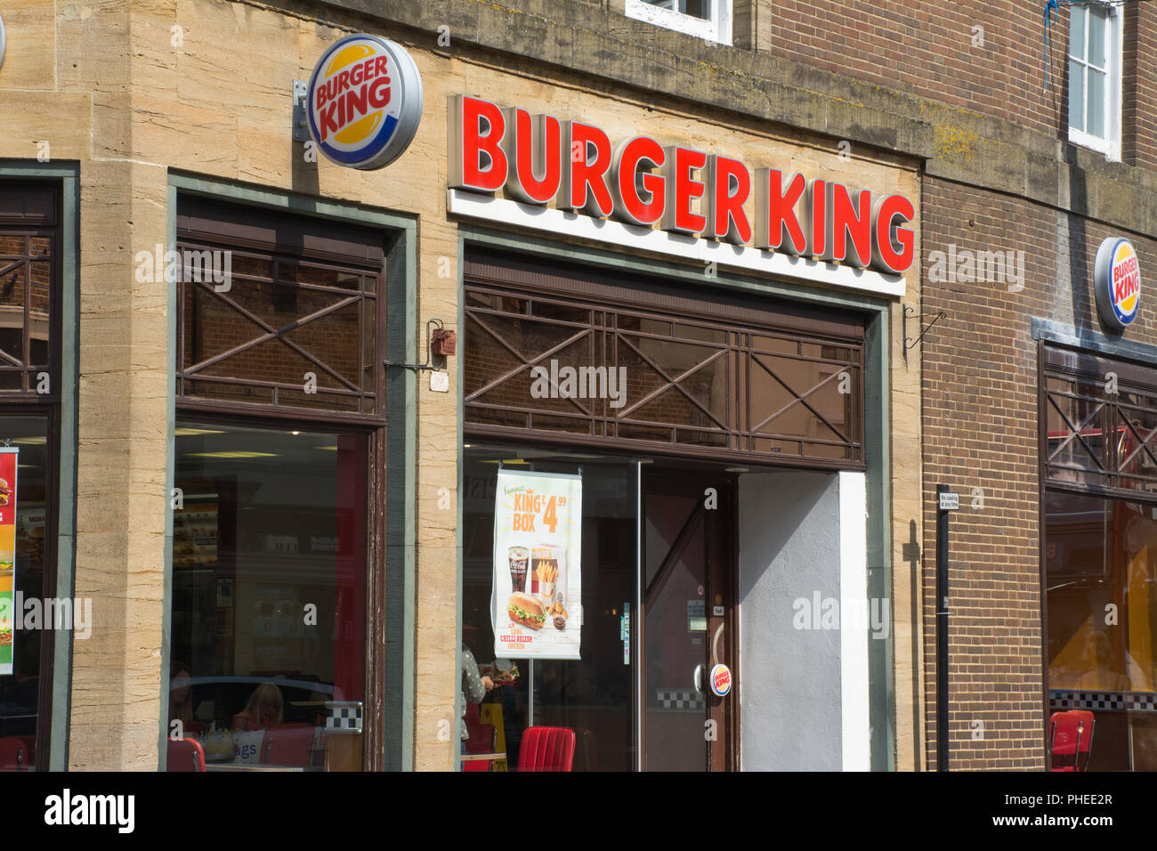 City Centre Burger King High Resolution Stock Photography And Images Alamy