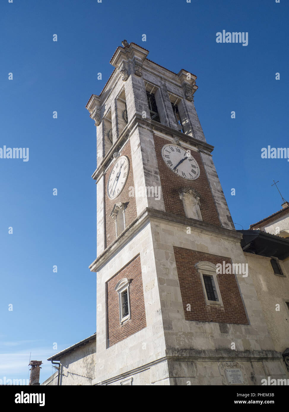 the sacred mountain of Varese, unesco heritage of humanity - Stock Image