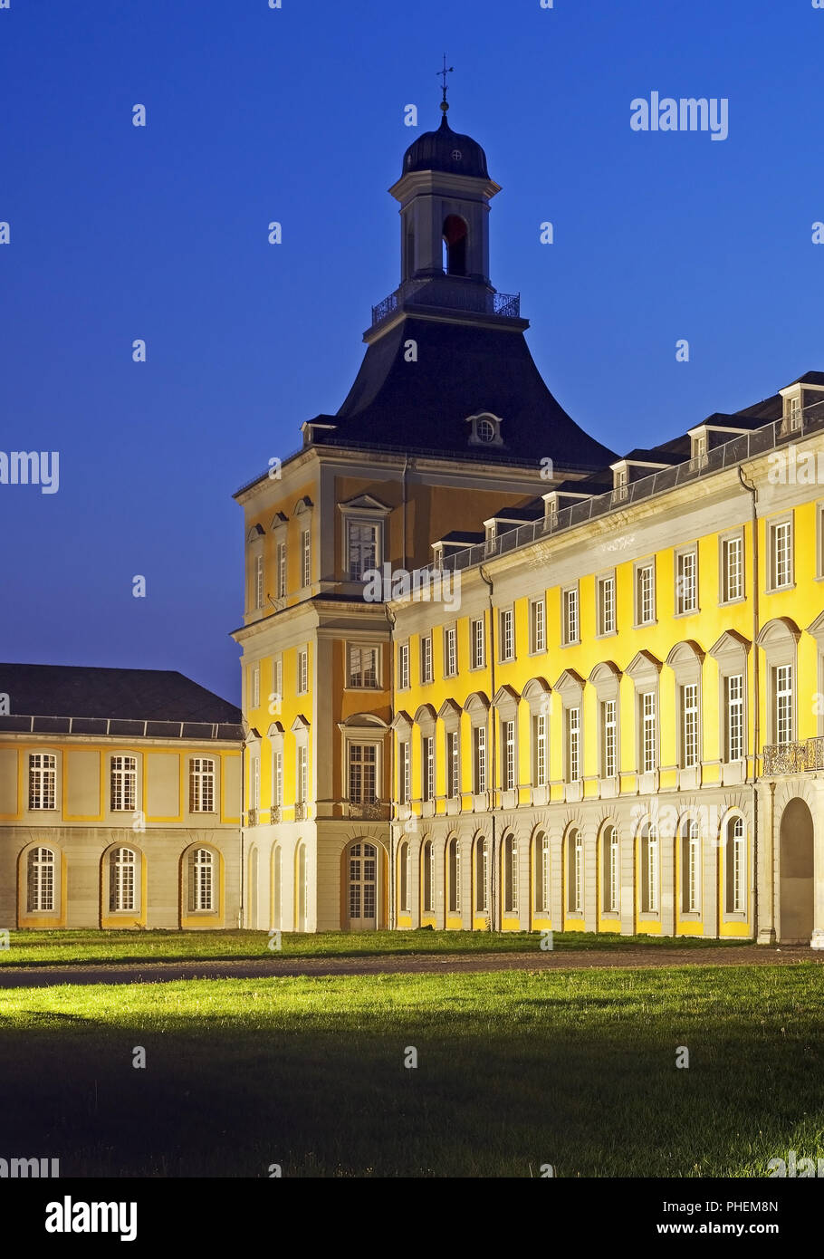 Electoral Palace, the main building of the university, Bonn, North Rhine-Westphalia, Germany, Europe Stock Photo