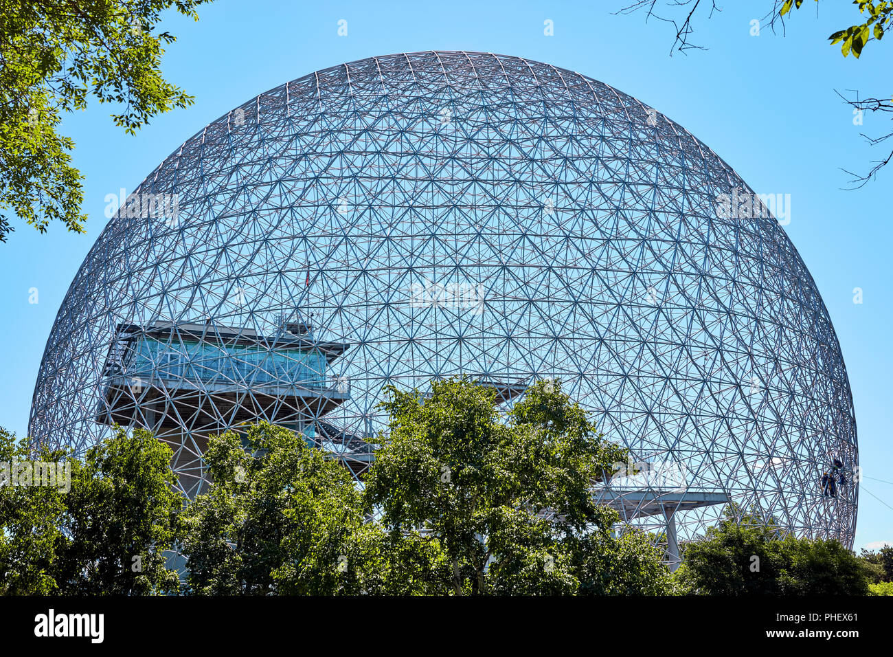Biosphere environment museum in Parc Jean Drapeau on Saint-Helen island in Montreal, Quebec, Canada. Stock Photo