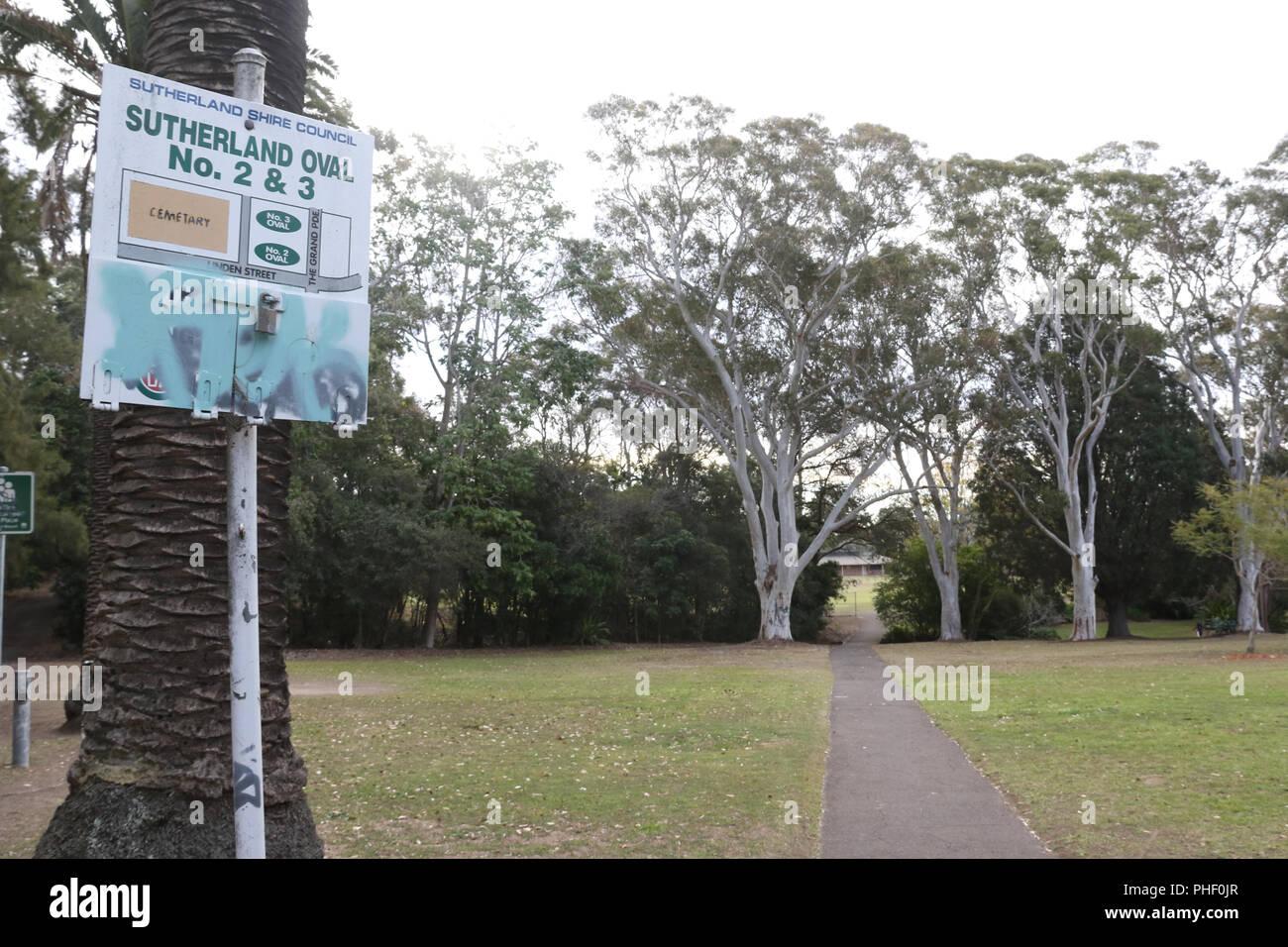 Sutherland Park, Sutherland, Sutherlandshire, NSW, Australia Stock Photo